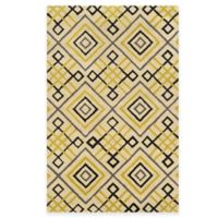 Rizzy Home Bradberry Downs Diamond Tile 2-Foot x 2-Foot Accent Rug in Ivory