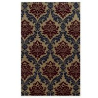 Rizzy Home Bradberry Downs Ikat Diamonds 5-Foot x 8-Foot Area Rug in Beige