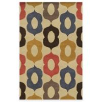 Rizzy Home Bradberry Downs Mod 5-Foot x 8-Foot Area Rug in Beige