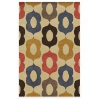 Rizzy Home Bradberry Downs Mod 8-Foot x 10-Foot Area Rug in Beige