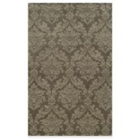 Rizzy Home Bradberry Downs Ornate Damask 5-Foot x 8-Foot Area Rug in Beige