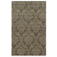 Rizzy Home Bradberry Downs Ornate Damask 8-Foot x 10-Foot Area Rug in Beige