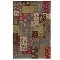 Kaleen Patchwork 8-Foot x 11-Foot Rug in Ivory
