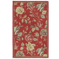 Kaleen Savannah 5-Foot x 7-Foot 9-Inch Rug in Red