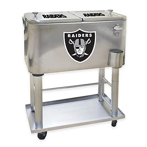 Nfl Oakland Raiders 60 Qt Cooler Bed Bath Amp Beyond