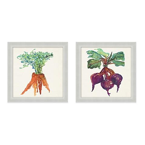 vegetables framed canvas wall art bed bath beyond. Black Bedroom Furniture Sets. Home Design Ideas