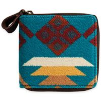Pendleton® Small Zip Wallet in Coyote Butte Turquoise