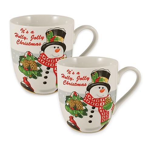 Fitz And Floyd Coffee Cake Mugs
