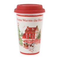 "Fitz and Floyd® ""Home Warms the Heart"" Travel Mug"