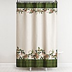Pinehurst Shower Curtain and Hook Set
