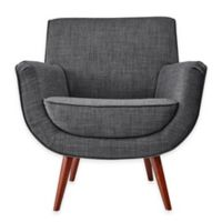 Adesso Cormac Chair in Charcoal Grey