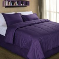 Cotton Dream Colors All Natural Cotton Filled Twin Comforter in Fig