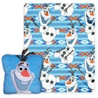 """Disney® 2-Piece """"Frozen"""" All About Olaf 3D Pillow and Throw Set"""