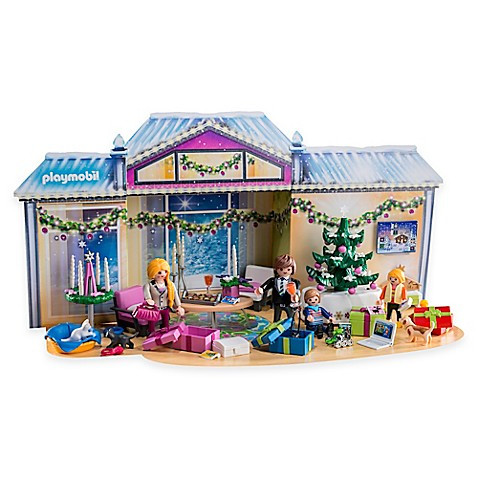 playmobil advent calendar christmas room bed bath beyond. Black Bedroom Furniture Sets. Home Design Ideas