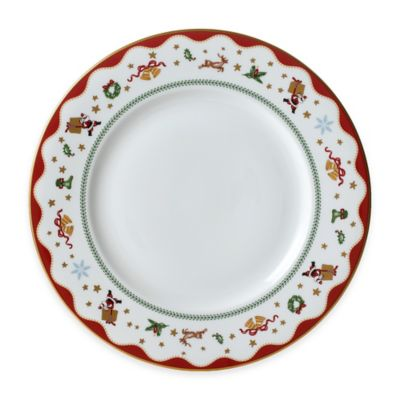 P by Prouna My Noel Dinner Plate  sc 1 st  Bed Bath \u0026 Beyond : red christmas dinnerware - pezcame.com