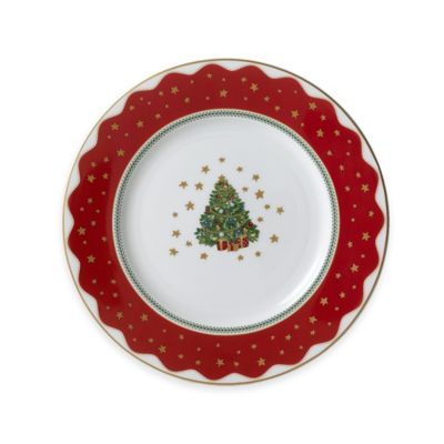 P by Prouna My Noel Salad Plate  sc 1 st  Bed Bath \u0026 Beyond & Buy Red Christmas Plates from Bed Bath \u0026 Beyond