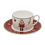 P by Prouna Nutcracker Teacup and Saucer