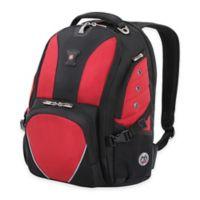 SWISSGEAR® 17.5-Inch Backpack in Black/Red