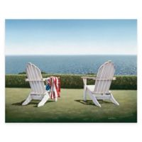 Spring House View 24-Inch x 36-Inch Gallery Canvas Wall Art