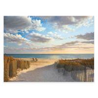 Sunset Beach 24-Inch x 36-Inch Gallery Canvas Wall Art