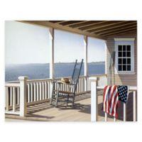 American Porch 16-Inch x 20-Inch Gallery Canvas Wall Art