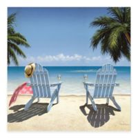 Cocktails For Two 16-Inch x 16-Inch Gallery Canvas Wall Art
