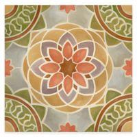 Tuscan Color Tile Block III Gallery Canvas Wall Art