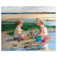 Sandcastles Gallery Canvas Wall Art