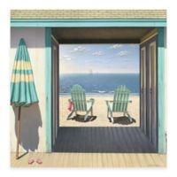 Beach Club 30-Inch x 30-Inch Gallery Canvas Wall Art