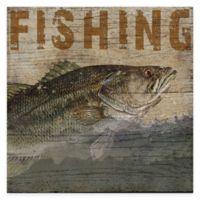 Fishing Lodge Gallery Canvas Wall Art