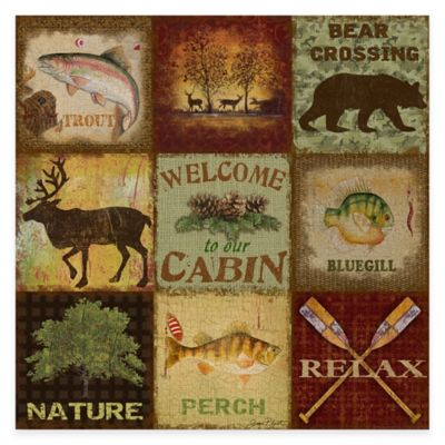Cabin Wall Art buy lodge decor from bed bath & beyond