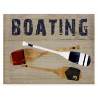 Courtside Market Boating Gallery Canvas Wall Art
