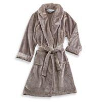 Wamsutta® Small Medium Plush Robe in Grey 5020a8a6e
