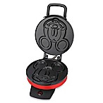 Disney® Classic Mickey Mouse Waffle Maker in Red