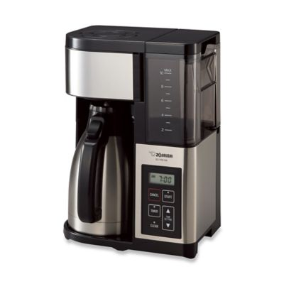 Grind And Brew Coffee Maker Bed Bath And Beyond : Zojirushi Fresh Brew Plus Thermal Carafe Coffee Maker - Bed Bath & Beyond
