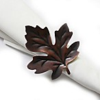 Falling Leaf Napkin Ring