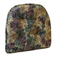 Klear Vu Tufted Cabernet Gripper® Chair Pad in Multi