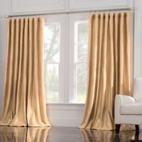 Valeron Estate 84-Inch Window Curtain Panel in Honey