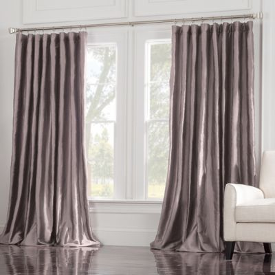 silk half price curtain panels drapes faux solid htm window modern taffeta curtains bookmark graphite treatments