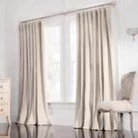 Valeron Estate 84-Inch Rod Pocket Insulated Double-Wide Window Curtain Panel in Flax