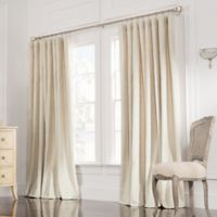 Valeron Estate 84-Inch Rod Pocket Insulated Double-Wide Window Curtain Panel in Sand