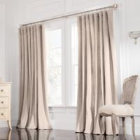 Valeron Estate 84-Inch Rod Pocket Insulated Double-Wide Window Curtain Panel in Taupe