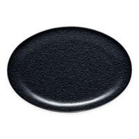 Noritake® Black on Black Snow Oval Platter