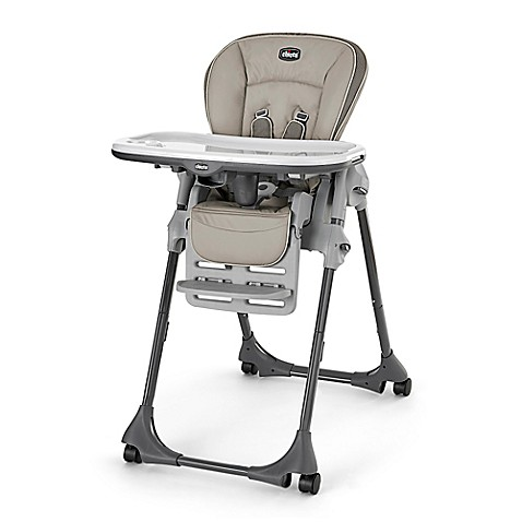 Buy Chicco Polly High Chair in Papyrus from Bed Bath