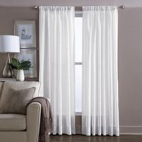 Wamsutta® Sheer 63-Inch Window Curtain Panel in White