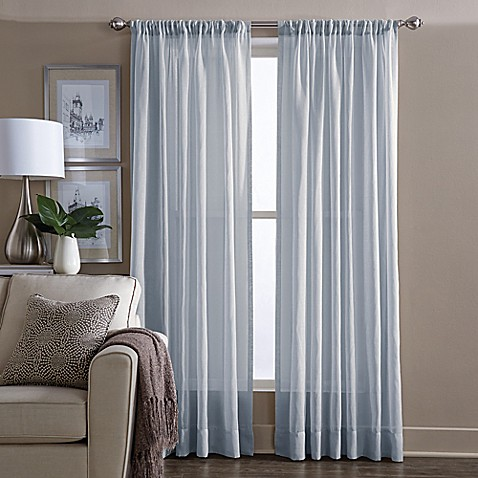Wamsutta Sheer Window Curtain Panel Bed Bath Beyond