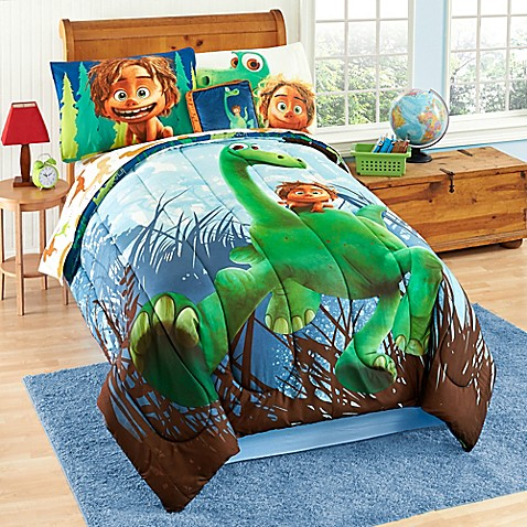 the good dinosaur reversible comforter set bed bath