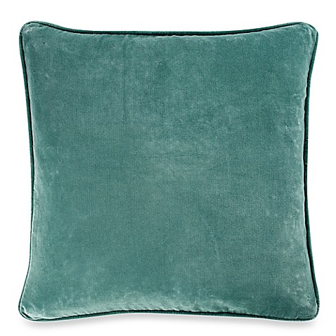 Roland 20-Inch Square Throw Pillow in Aqua - Bed Bath & Beyond