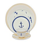 P by Prouna Marine Blue Dinnerware Collection