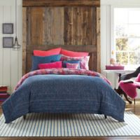 Happy Indigo Reversible Twin Comforter Set